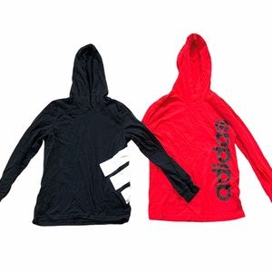 Adidas Pullover Hoodie The Go To Tee Logo Trefoil